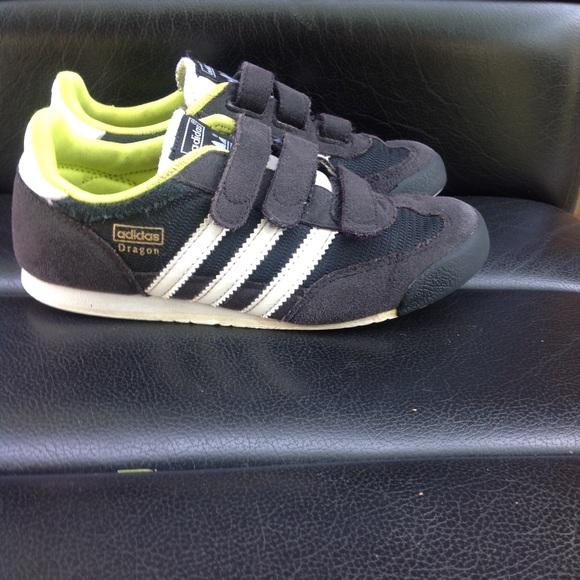 Adidas zapatos Suede zapatilla tamaño 1 poshmark Dragon